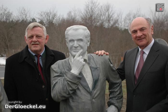 Landeshauptmann Erwin Pröll und Bürgermeister Karl Kindl | Foto: DerGloeckel.eu