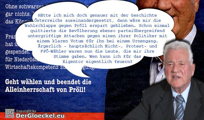 Frank Stronach | Graphik: DerGloeckel.eu