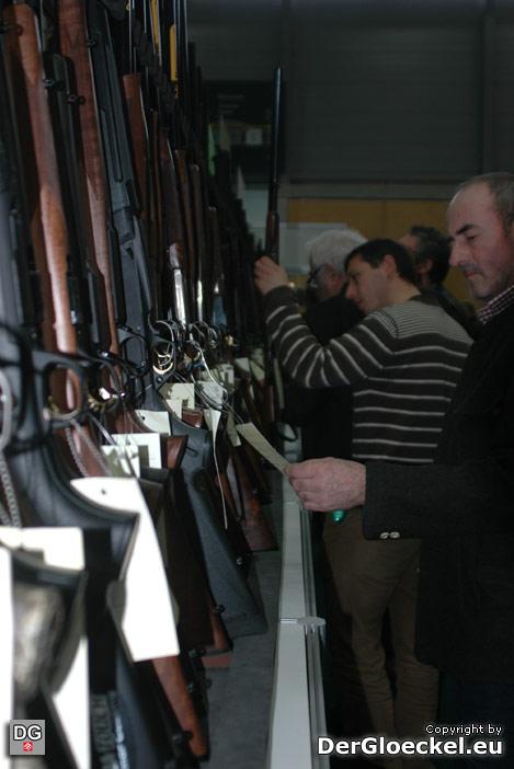 Jagdgewehre auf der Jaspowa | Foto: DerGloeckel.eu