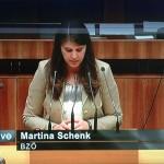 ORF patzte bei Parteizugehörigkeit von Martina Schenk