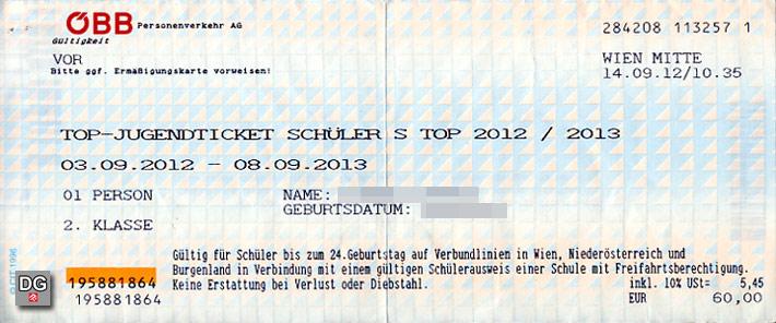 Jahreskarte der ÖBB | Faksimile: DerGloeckel.eu