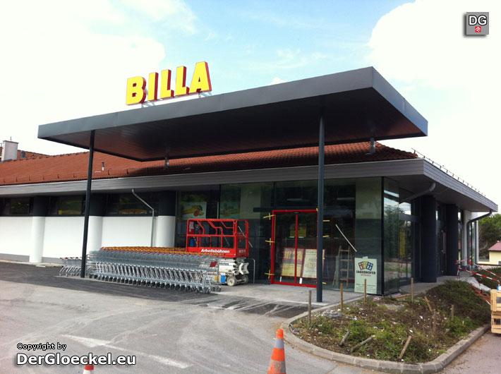 Umbau des BILLA in Hainburg | Foto: DerGloeckel.eu