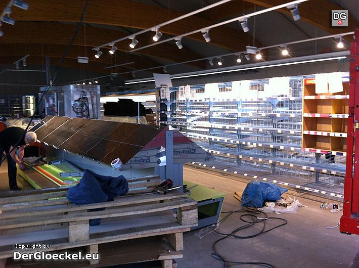 Modernisierung beim BILLA in Hainburg | Foto: DerGloeckel.eu
