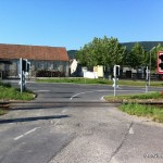 Sanierungsfall Bahnübergang nach Hochwasser | Foto: DerGloeckel.eu