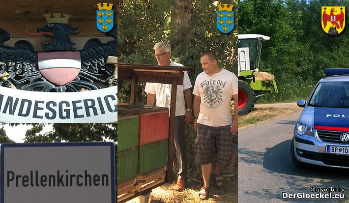 Feldbrand in Neudorf – Bienenvölker in Berg – Sexualverbrecher abgeblitzt