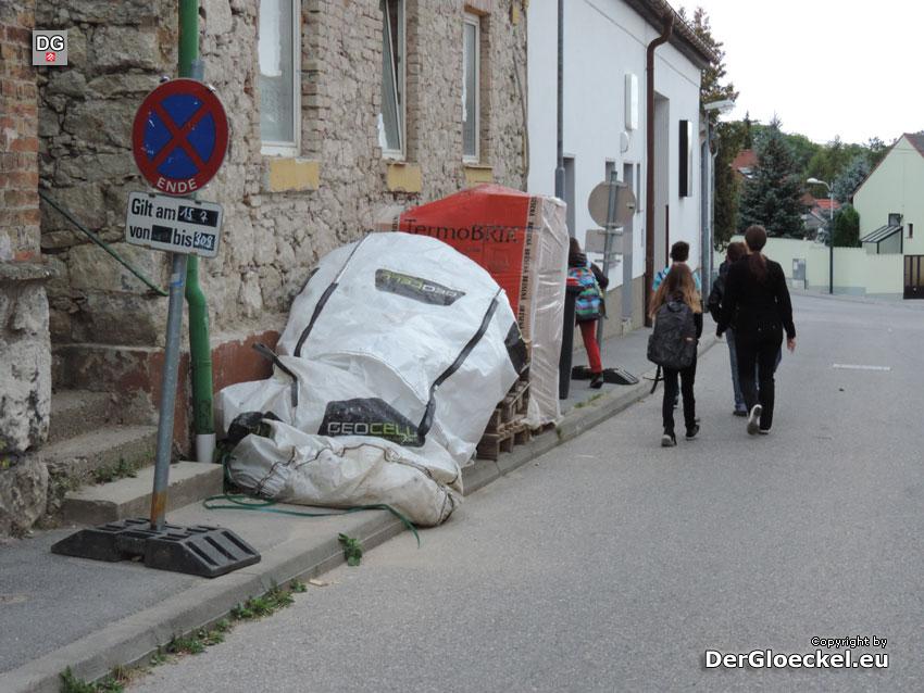 Schulweg zur Neuen Mittelschule Hainburg | Foto: DerGloeckel.eu