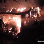 Totalschaden - Vollbrand der Lagerhalle | Foto: DerGloeckel.eu
