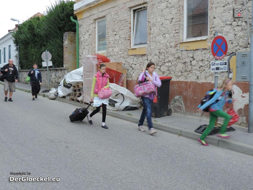 gesperrter Gehsteig | Foto: DerGloeckel.eu