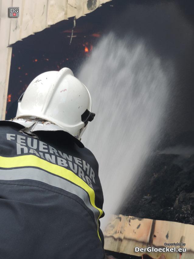 Löscheinsatz nach möglicher Brandstaiftung in Bad Deutsch-Altenburg | Foto: DerGloeckel.eu