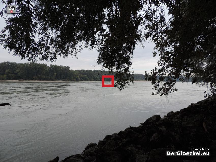 Unser Standort am südlichen Donauufer | Foto: DerGloeckel.eu