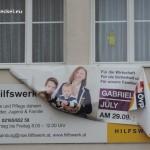 Wahlwerbung Gabriele Jüly ÖVP und Hilfswerk | Foto: DerGloeckel.eu