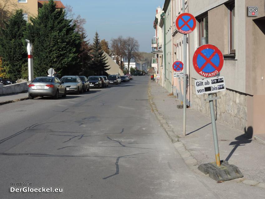 Verkehrsregelungen in Hainburg auch ein Quell der Unterhaltung