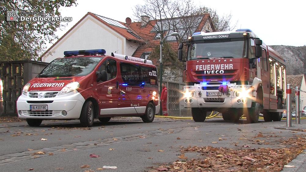 Video: Wieder Brandstiftung in Hainburg – Feuer im Jugendheim
