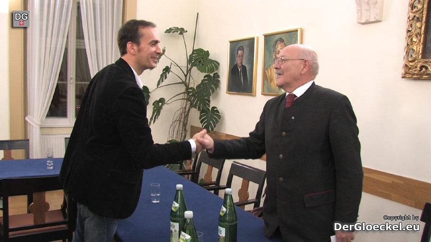 Josef Zeitelhofer (ÖVP) wurde neuer Bürgermeister von Hainburg