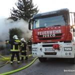 Wohnhausbrand in Hainburg | Foto: DerGloeckel.eu