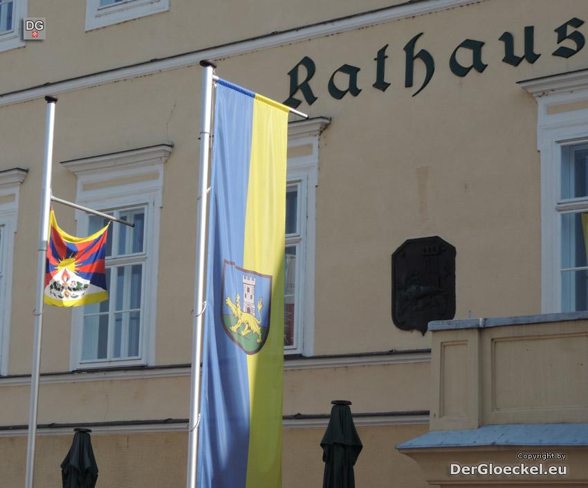 Stadt Hainburg bezeugt Solidarität mit Tibet