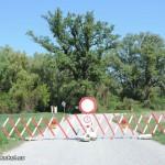 Totalsperre am Zugang des Nationalparkes Donau Auen | Foto: DerGloeckel.eu